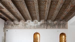 soffitti dipinti palermo scoperti soffitti dipinti al museo archeologico di palermo