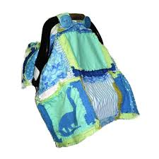 Free Carseat Canopy Pattern by Dinosaur Rag Quilt Car Seat Canopy Pattern Cute Appliqued Quilt
