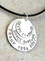 Personalized Mens Necklaces Personalized Mens Necklace Personalized Fathers Gifts Mans
