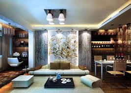 Traditional Japanese Interior by Traditional Japanese Living Room Lighting Idea On The Wall Black