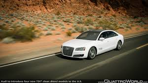 Audi Q5 6 Cylinder Diesel - audi to introduce four new tdi clean diesel models to the u s