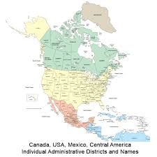 map for usa and canada map usa and canada major tourist attractions maps
