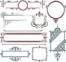 decorative border illustrator free vector 218 667 free