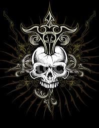 ornate skull design stock photos freeimages com