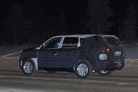 2018 ssangyong rexton spied winter testing near the arctic circle