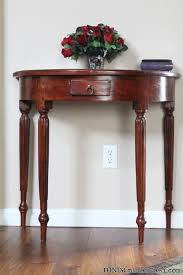 half circle accent table half round accent table incredible help me ronda weekend warrior