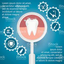 dental template for infographic stock vector art 587549186 istock