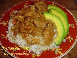 cuisine antillaise fricassé de lambi plat créole culinaire by minouchka