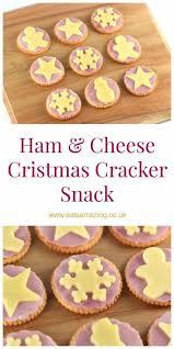 Christmas Party Food Kids - ham u0026 cheese christmas cracker snack eats amazing