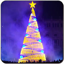 Spiral Light Christmas Tree Outdoor by Spiral Lighted Christmas Tree Spiral Lighted Christmas Tree