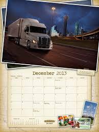 kenworth calendar 2017 freightliner trucks 2013 calendar now available nexttruck blog