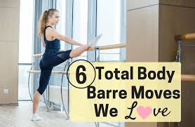 a 6 step full body barre workout sparkpeople