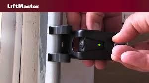 garage door opener consumer reports how to align the safety reversing sensors on your garage door