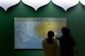 Show Me A Map Of China by If China Builds It Will The Arab World Come Chinafile
