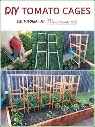 diy tomato cage tutorial garden tips creatingmaryshome com