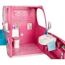 barbie pop up camper playset walmart com