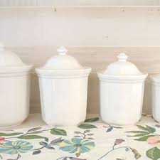kitchen ceramic canister sets best white canister set products on wanelo
