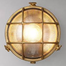 buy nordlux bulkhead round outdoor light online at johnlewis com