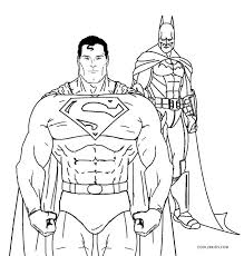 Batman And Superman Coloring Pages Murderthestout Batman Coloring Pages For