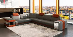 Orange Sofa Chair Sofa Settee Sofa Grey Leather Sofa Grey Leather Sofas For Sale