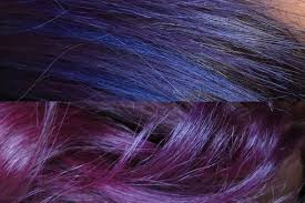 vlog mes cheveux violets crazy color youtube