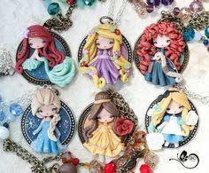 bracelet disney princesses fimo polymer clay artmary2