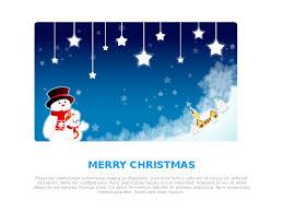 email template greeting happy holidays christmas blue christmas
