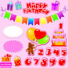 happy birthday gift card free vector 16 128 free vector