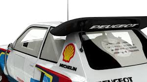peugeot 205 group b peugeot 205 t16 group b mesa u0027s artworks