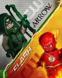 supergirl arrow flash lego treatment billboards