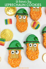 day cookies leprechaun treats st s day cookies oh my creative