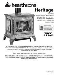 Wood Burning Fireplace Parts by Hearthstone Heritage Soapstone Wood Stove Parts