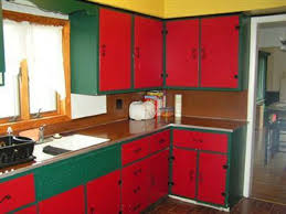 red kitchen ideas top home design kitchen cabinets red color kitchen