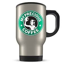 gifts for lord of the rings fans amazon com smeagol travel mug my precious coffee funny lord of