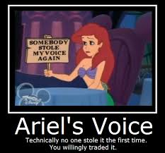 Ariel Meme - disney ariel s voice by masterof4elements on deviantart