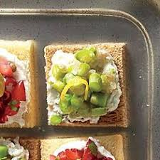 canape toast best canape toast squares recipe on
