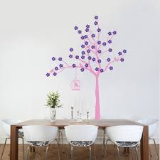 blossom tree with birdcage wall stickers u0026 decals