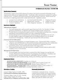 functional resume format format