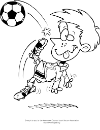 soccer coloring pages getcoloringpages com