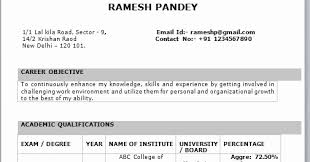 resume format on word resume format for freshers new it fresher resume format in word