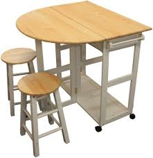 breakfast bar table set maribelle folding table and stool set kitchen breakfast bar white