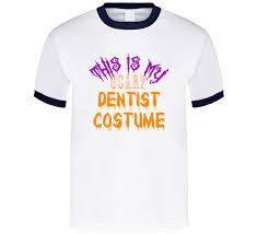Halloween Dentist Costume Scary Dentist Costume Funny Halloween Shirt
