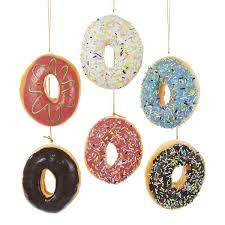 foam donut ornaments 24 box set kurt s adler