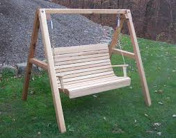 Vintage Redwood Patio Furniture - furniture cool redwood porch swings for outdoor furniture ideas