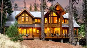 log cabin luxury homes creekside cabin luxury vacation rental at tumalo lake just 12