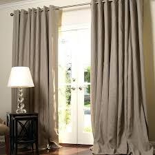 Grommet Burlap Curtains Curtains With Grommets White Burlap Blackout Curtains Blackout