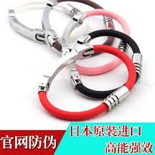 germanium energy bracelet images Antistatic wrist strap japan movement silicone bracelet titanium jpg