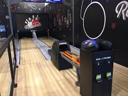 mini bowling lanes rollerball bowling