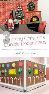 Some Christmas Decorations - best 25 christmas cubicle decorations ideas on pinterest office