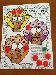 thanksgiving math third grade thanksgiving activities
